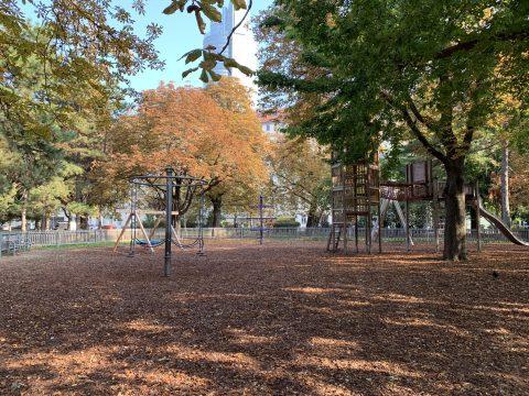 Übersicht Spielplatz Allerheiligenpark