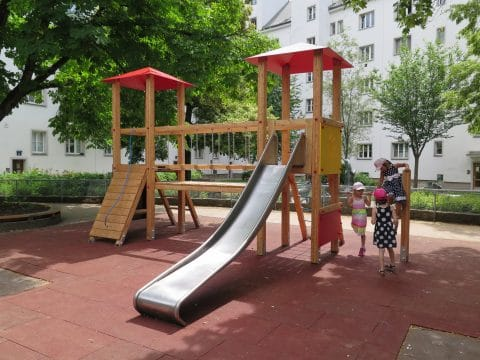 Kinderspielplatz in der Grabnergasse, 1060 Wien
