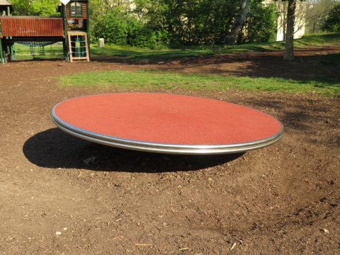 Große Drehscheibe am Kinderspielplatz in 1100 Johanna Benda Park