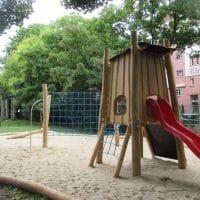 Spielplatz im Waldmüllerpark vom Spielplatz-Experten FREISPIEL