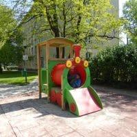 Spielgeräte von FREISPIEL in 1100 Wien, Gußriegelstraße
