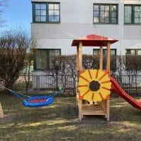 Kleinkinder Spielkombi Sunflower von der Seite