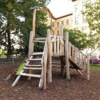 Spielgeräte von FREISPIEL im Heiligenstädter Park