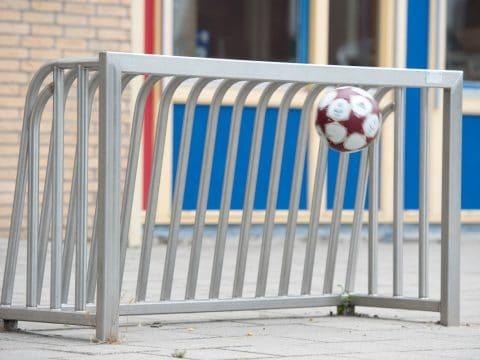 Fußballtor Mini Edelstahl