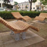 Sit&Move Wave für öffentliche Plätze und Flächen