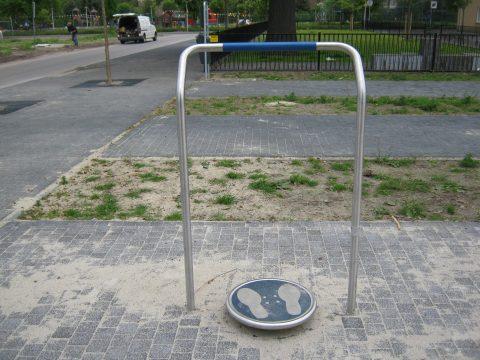 Fitness Hüfttwister Edelstahl