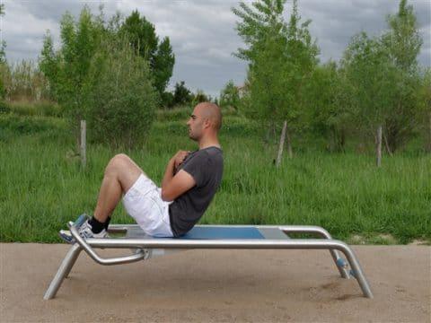 Fitness Bodyshaper Edelstahl