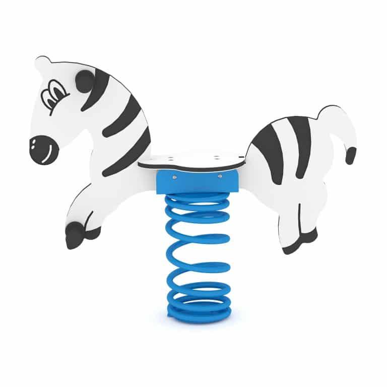 Federwippe Zebra