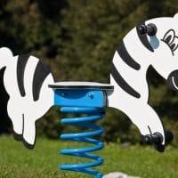 Federwippe Zebra von FREISPIEL
