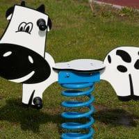 Federwippe Kuh von FREISPIEL