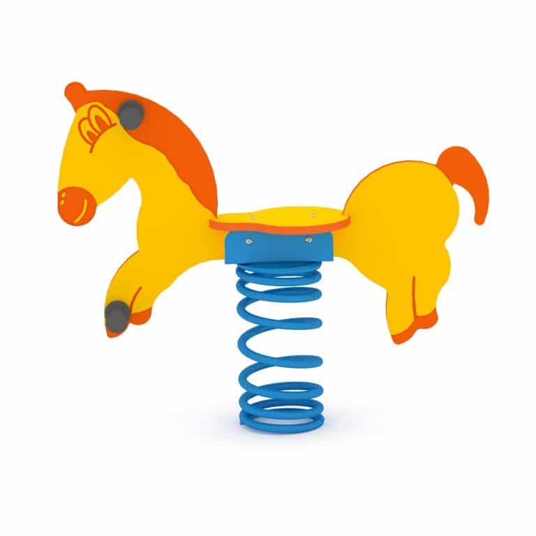 Federwippe Pferd für 1 Kind