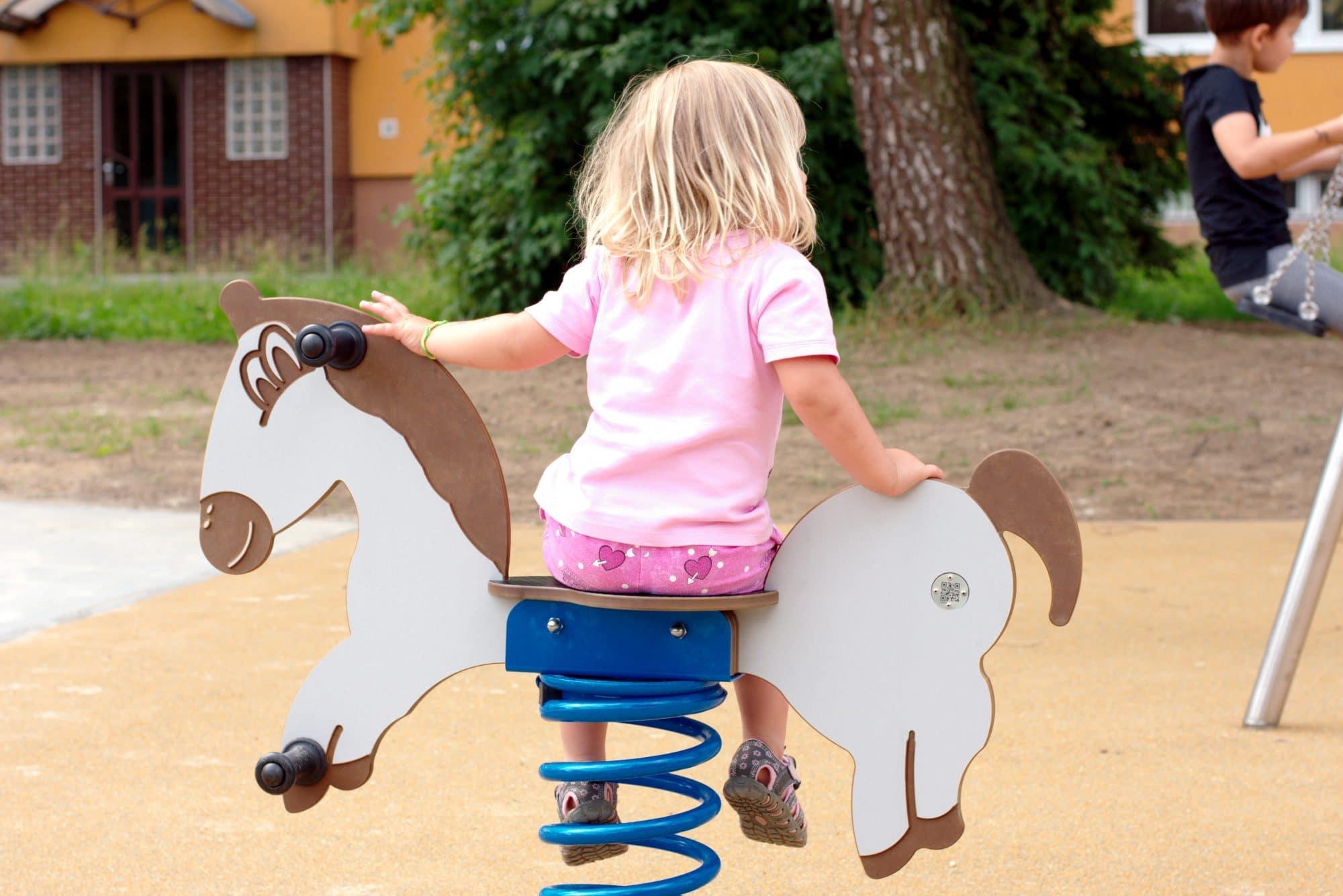 Federwippe Pferd für 1 Kind von FREISPIEL