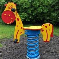 Federwippe Giraffe von FREISPIEL