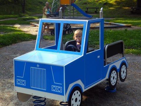 Federwippe Truck von FREISPIEL