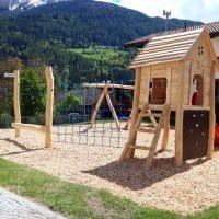 Übersicht neuer Spielplatz in Tirol
