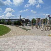Großer neuer Spielplatz für Kinder von FREISPIEL