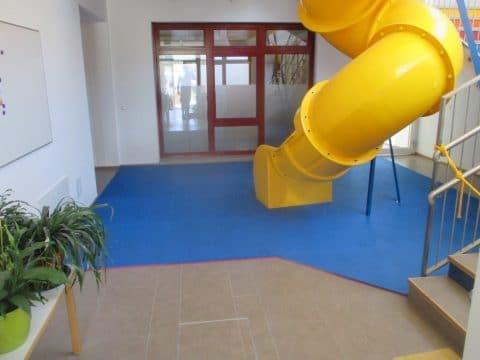 Indoorrutsche im Kindergarten in Textingtal - umgesetzt von FREISPIEL