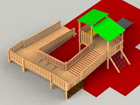 Planung einer barrierefreien Spielanlage