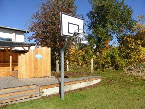 Basketballanlage von FREISPIEL für Zuhause