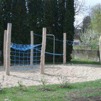 Spielplatz in Poysdorf bei der Volksschule