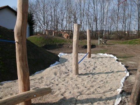 2203 Großebersdorf: Kinderspielplatzgestaltung von FREISPIEL