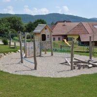 Neuer Spielplatz von FREISPIEL in der NMS in Pöggstall