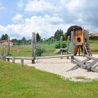 Übersicht toller Spielplatz in Pöggstall von FREISPIEL