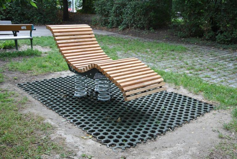unsere neue Liege Sit and Move Relax von FREISPIEL