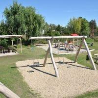 Überblick neuer Spielplatz Erlau Gasse 12