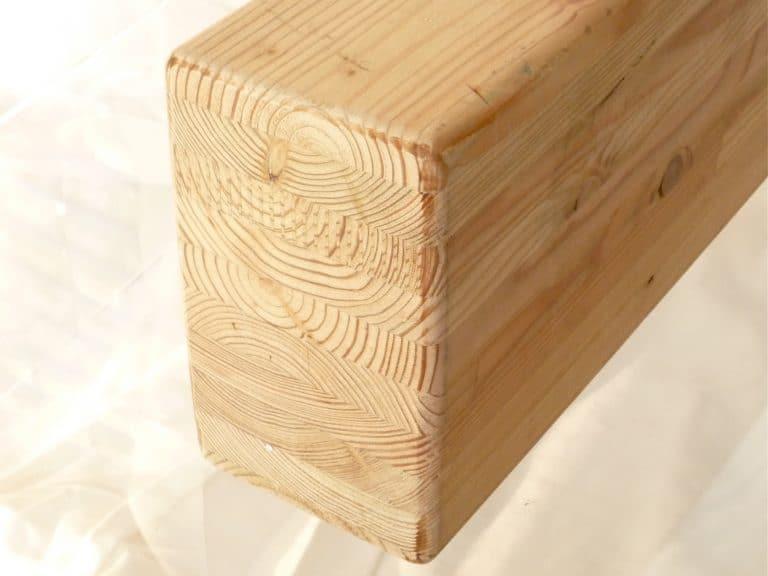 Holz für Schaukelbalken
