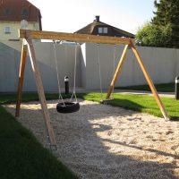 Doppelschaukel Reifen bei FREISPIEL, dem Spielplatzbauer aus Wien