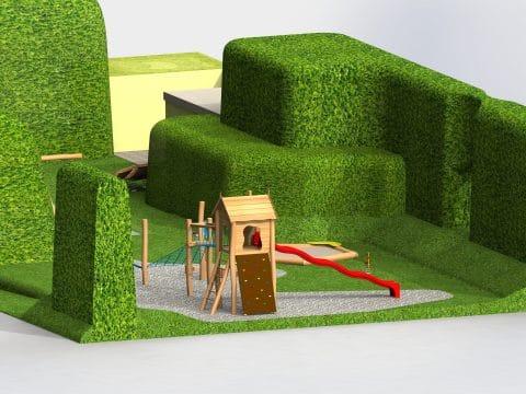 Planung Spielplatz