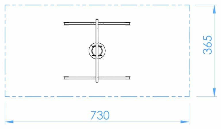 HOPF - SB107b - Einfachschaukel - Reifen