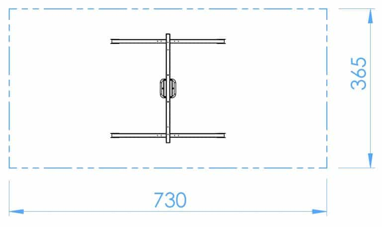 HOPF - SB107c - Einfachschaukel - Kleinkindersitz