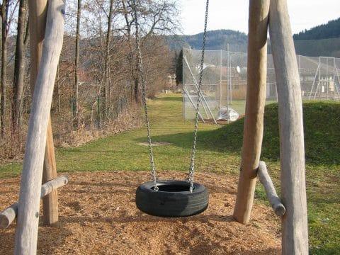 Robinico Einfachschaukel mit Reifen