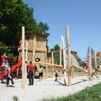 2082 Hardegg, Nationalpark Thayatal: Spielplatz von FREISPIEL