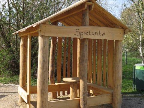 neues Spielhaus in der Georg Prentl Gasse