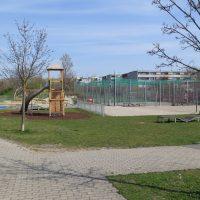 Übersicht Spielplatz Hubert Blamauer Park