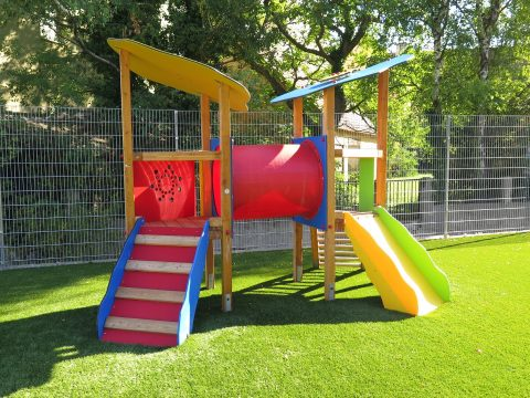 Kleinkinder Spielanlage in der Erberpromenade