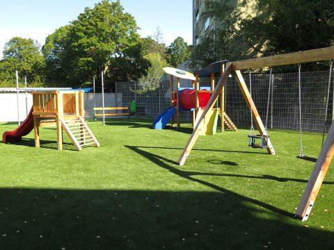 Unser neuer Spielplatz in Himberg