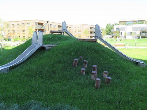 Neuer Spielplatz von FREISPIEL Carlbergergasse 95