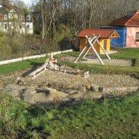 Überblick des Spielplatzes in Mitterndorf an der Fischa