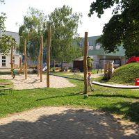 Übersicht neuer Spielplatz von FREISPIEL in der Schillergasse 27