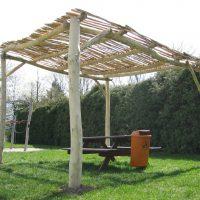 Hochgeladen zu Holzpergola Schattenanlage Robinico