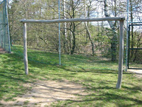 Fußballtor ohne Netz