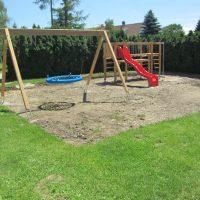 neu gebauter Spielplatz von FREISPIEL