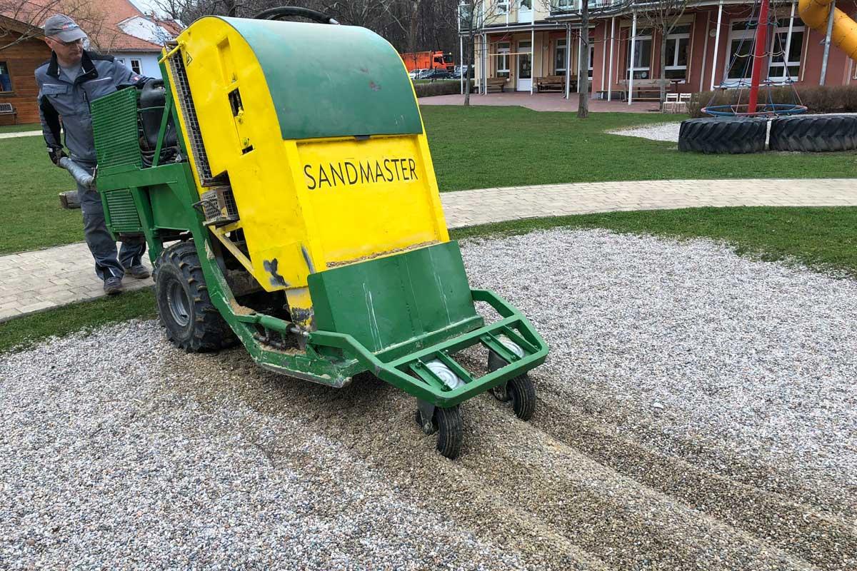 Sandmaster Sandreinigung
