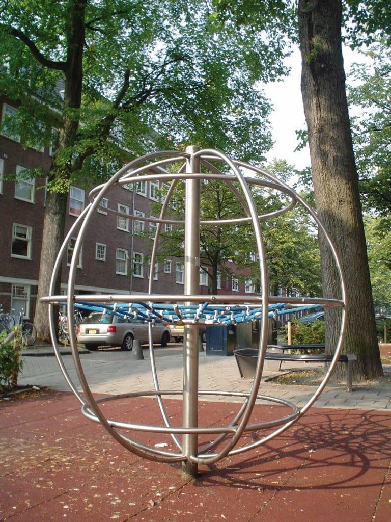 Kletter Globe Edelstahl