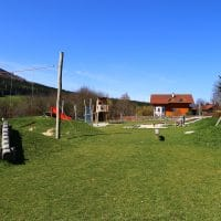 3662 Laimbach am Ostrong: Spielplatz im Grünen