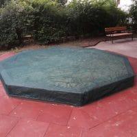 Netzabdeckung für achteckigen Sandkasten von FREISPIEL